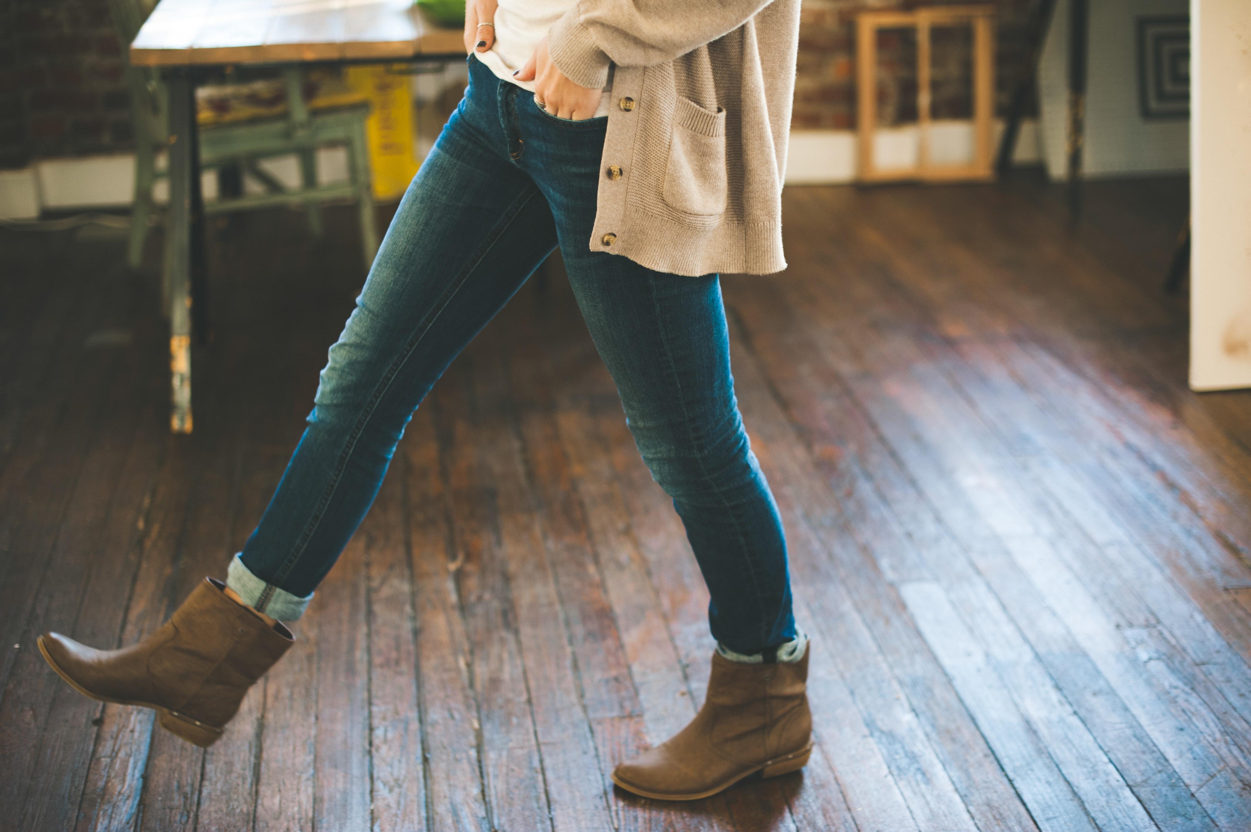Estas botas están hechas para caminar