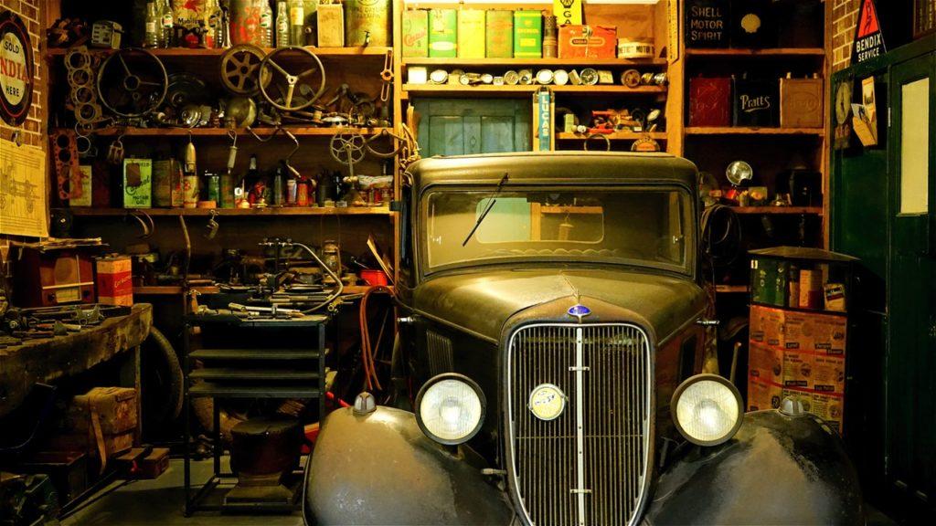 organizar garaje