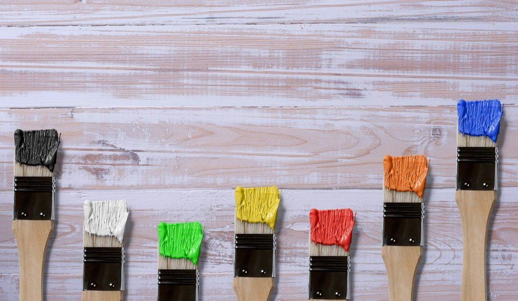 Considera los colores de tu oficina
