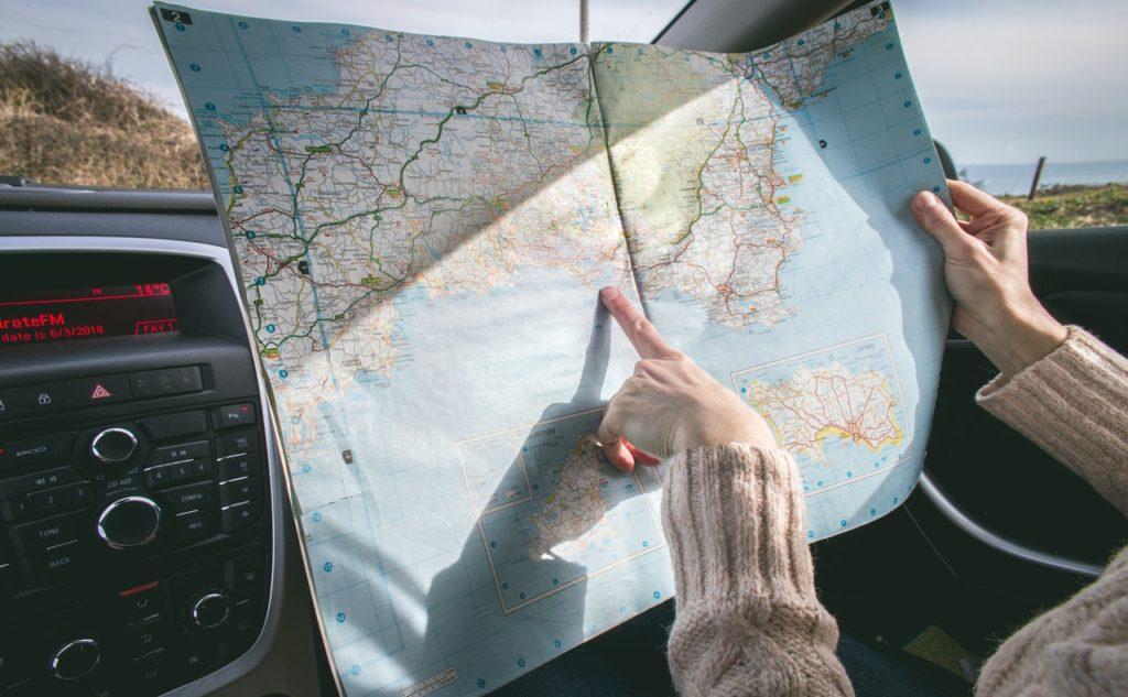 Navegación en coche