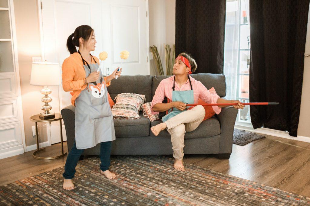 Deja de pelearte por las tareas domésticas hoy mismo