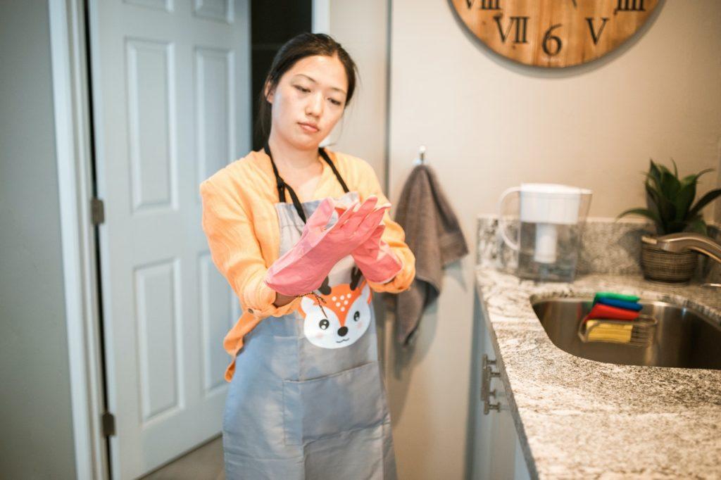 Reconocer que no se trata (realmente) de las tareas domésticas