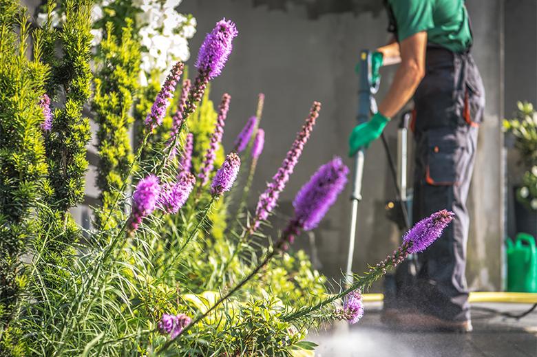 Approfitta delle pulizie primaverili per pulire gli spazi esterni