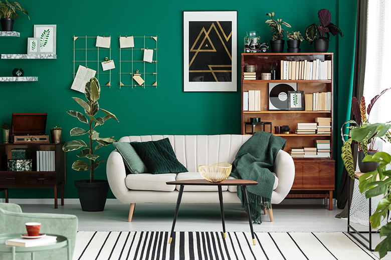 biblioteca sala de estar