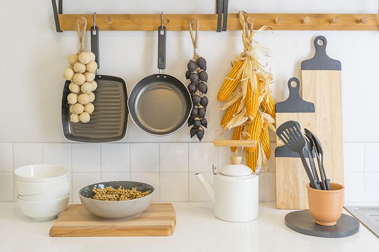 almacenamiento utensilios cocina