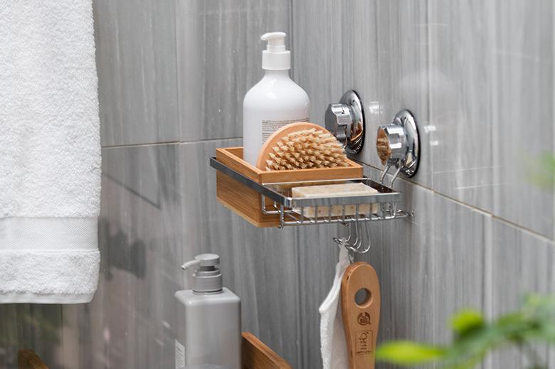 almacenamiento ducha bañera